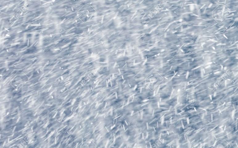 4231929-抽象的な雪吹雪背景